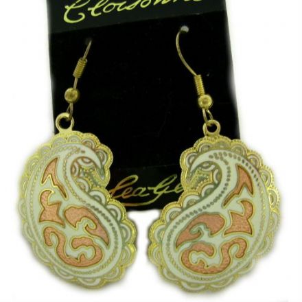 Cloisonne Hook Earrings SE27